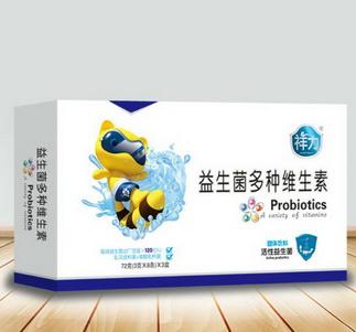 益生菌多种维生素(规格:72克(3克×8条)×3盒)招商