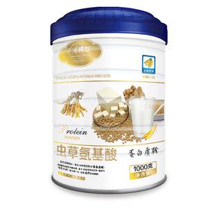 供应虫草氨基酸-蛋白质粉(规格:1000g每罐)
