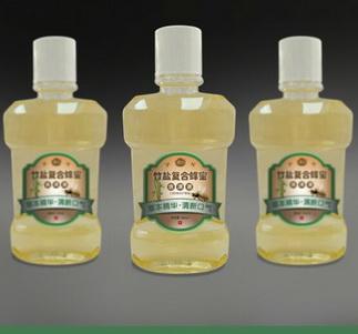 竹盐复合蜂蜜-含漱液(规格:200ml)招商
