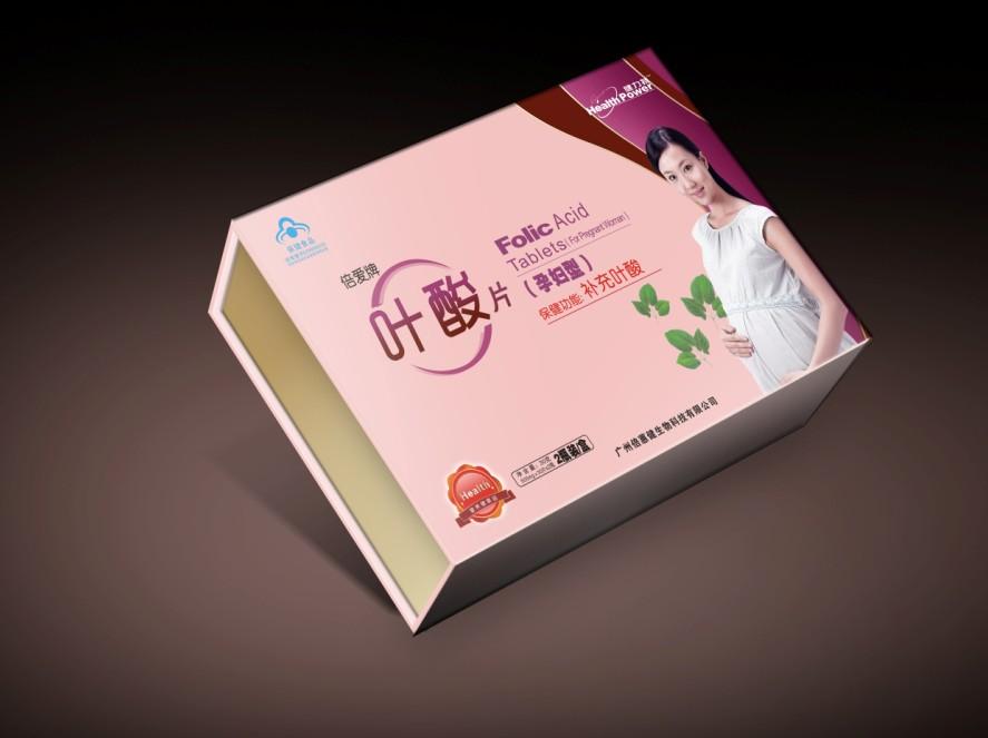 (木盒装)纽斯康牌叶酸片(孕妇型)(木盒)招商