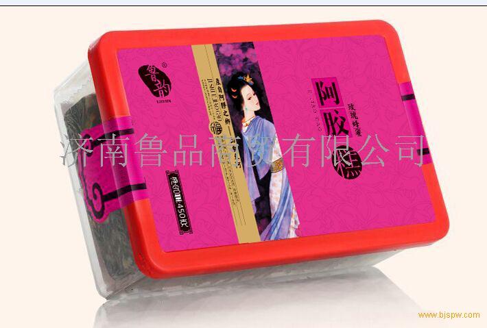 塑盒玫瑰蜂蜜阿胶糕招商