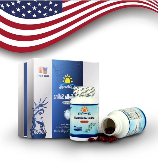 美国原装进口盐藻胶囊