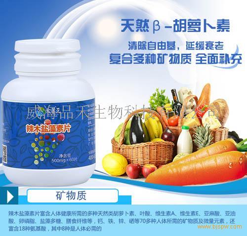 中日联研,国内首款辣木盐藻素片面向全国招商