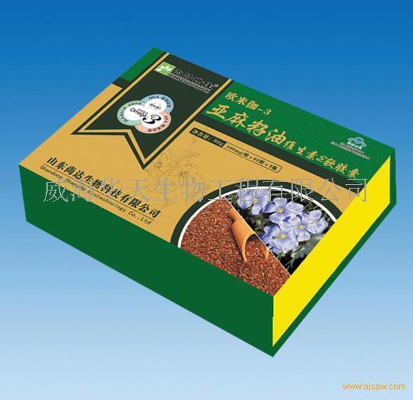 亚麻籽油维生素E软胶囊-会销系列