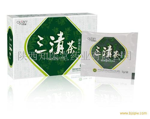 三清茶—清火清肠清口臭
