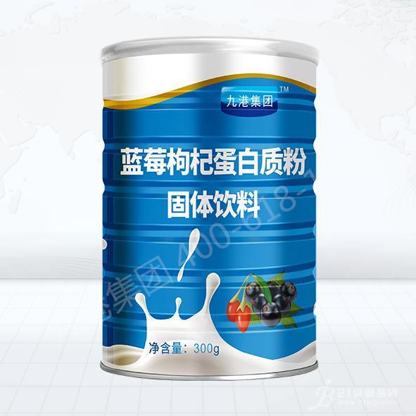 九港集团蓝莓枸杞蛋白粉300克招商