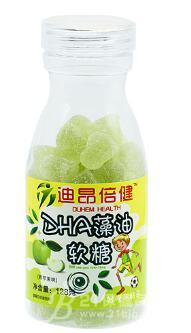 供应DHA藻油软糖(青苹果味)