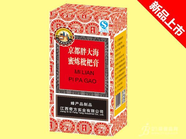 京都胖大海-蜜炼枇杷膏150mlx80瓶招商