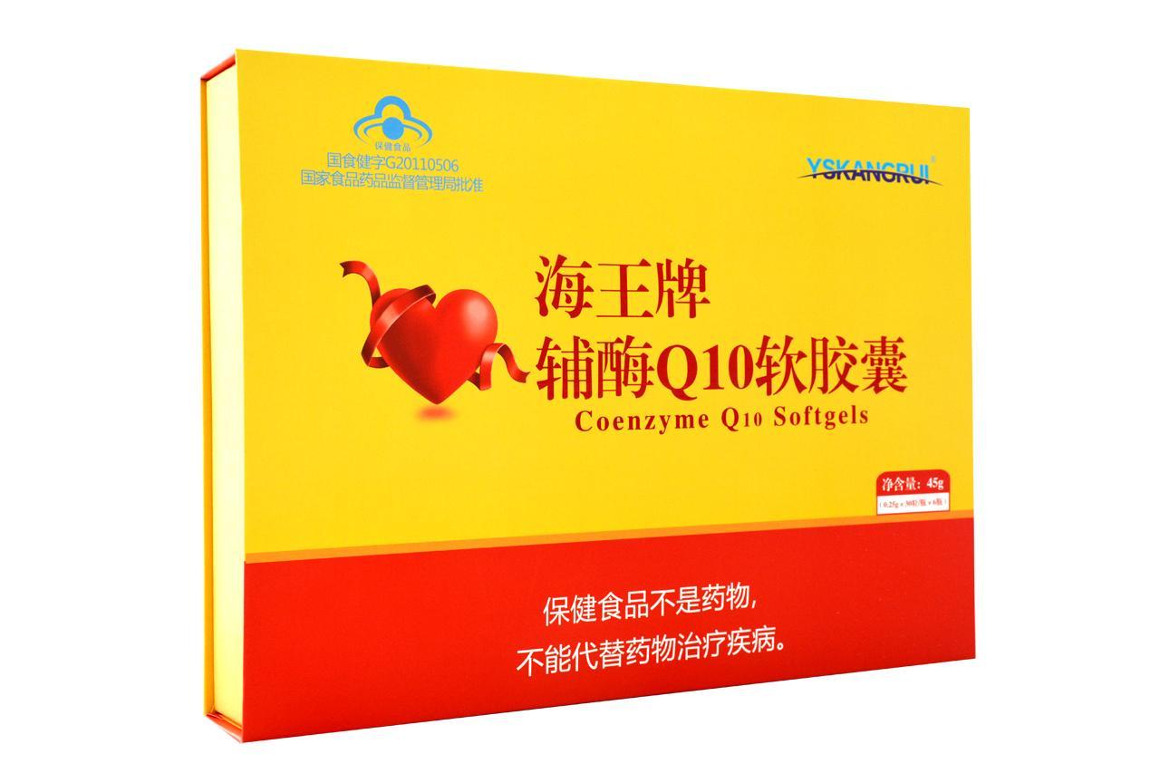 辅酶Q10软胶囊(礼盒高含量)