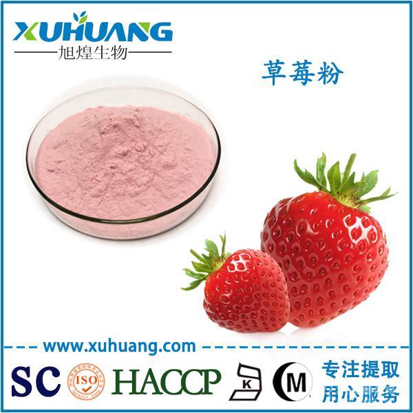SC认证厂家现货供应百草莓粉草莓汁粉