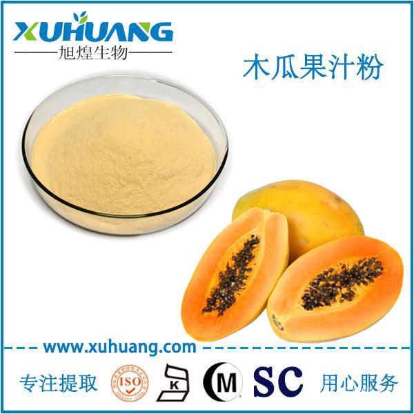 SC厂家供应无添加木瓜汁粉