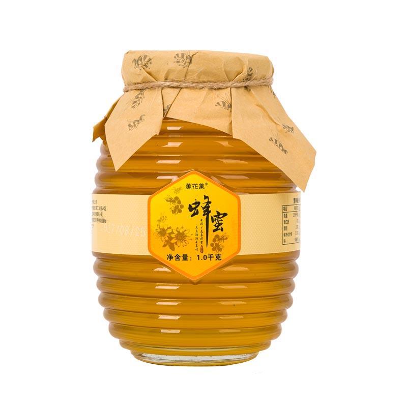 万花集蜂蜜玻璃瓶装