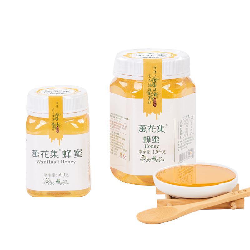 万花集蜂蜜塑料瓶装
