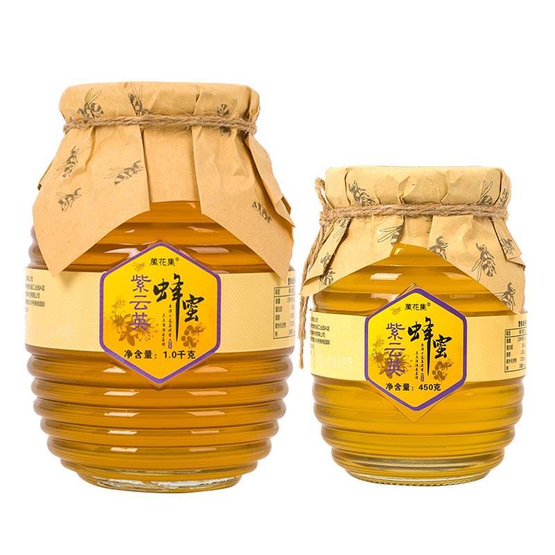 万花集紫云英蜂蜜玻璃瓶装
