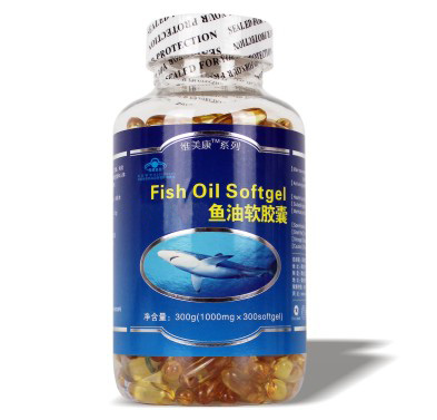 鱼油软胶囊300粒